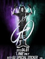 G-Dragon Rilis Poster 'Michi Go'