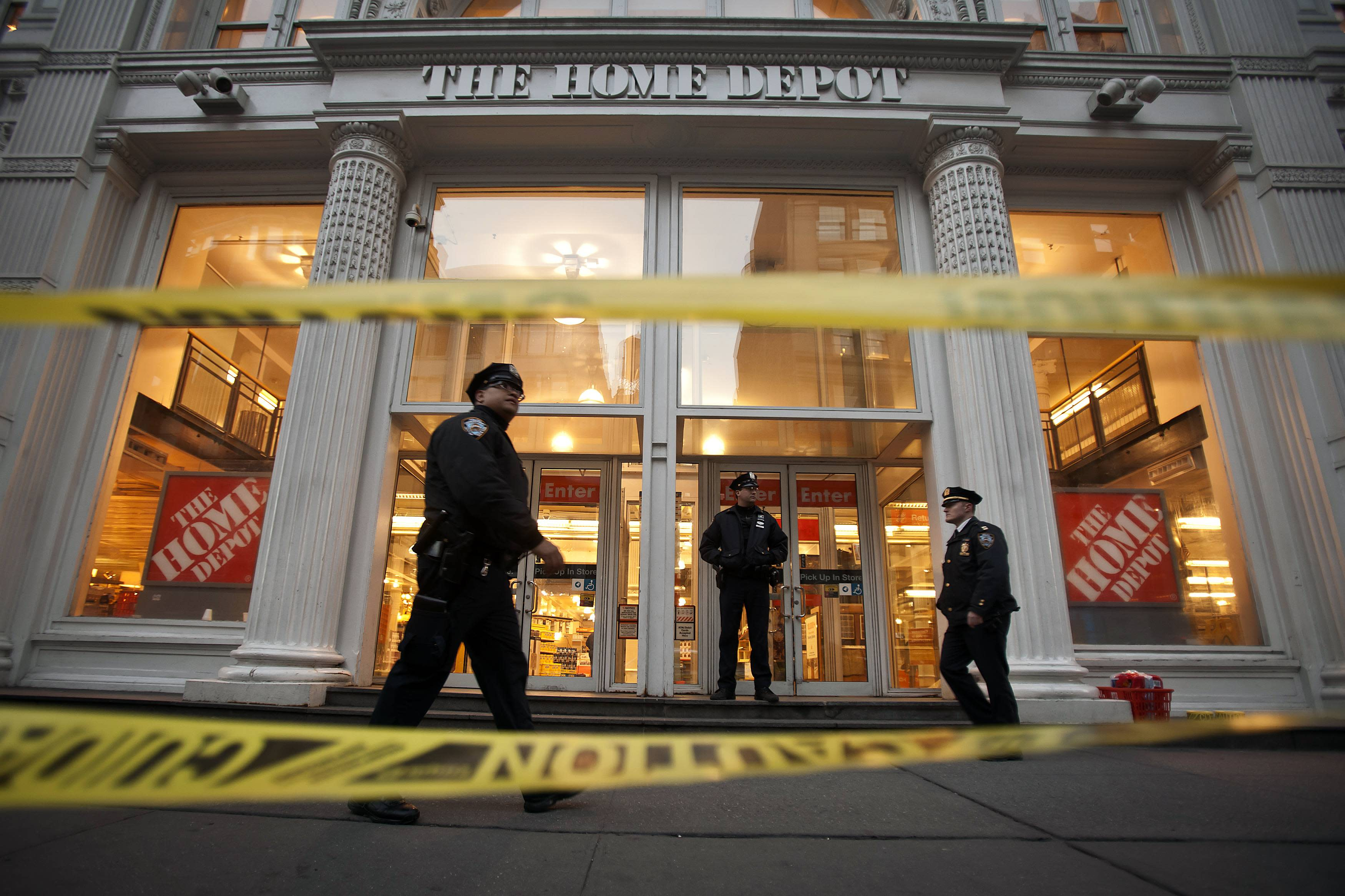 NYC Home Depot shooting