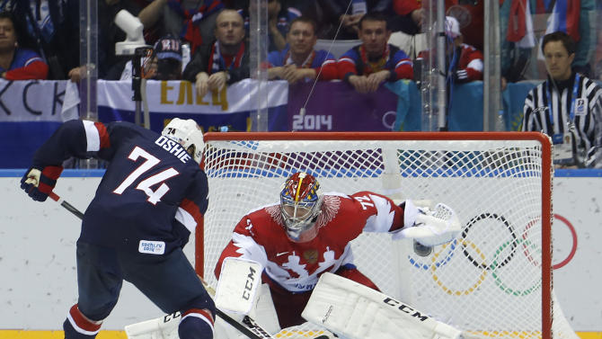 Blue Jackets upbeat as they return from Olympics