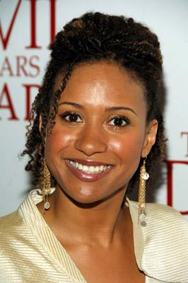 Tracie Thoms at the NY premiere of 20th Century Fox's The Devil Wears Prada