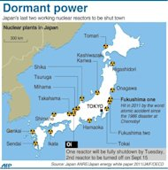 Graphic locating nuclear plants in Japan. Japan's nuclear watchdog chief said Monday that contaminated water from the ruined Fukushima nuclear plant must be released into the ocean eventually, warning the plant remains fragile with many risks