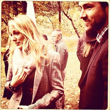 NEW PIC: Blake Lively, Ryan Reynolds Resurface at Amber Tamblyn's Wedding