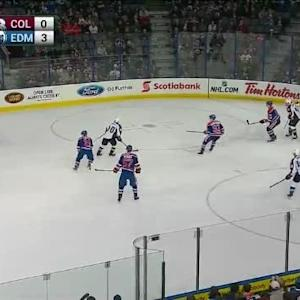 Ben Scrivens Save on Jan Hejda (18:56/1st)