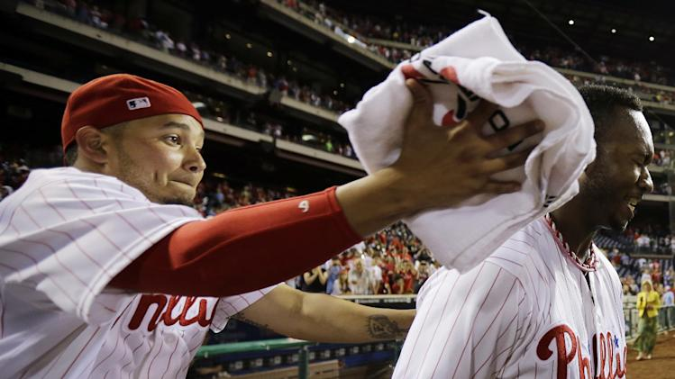 Brown's hit in 9th lifts Phillies over Nationals