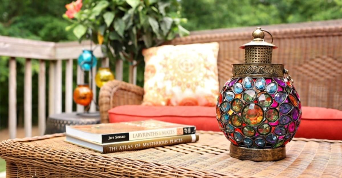 Global Back Deck Makeover By Pier 1 Imports