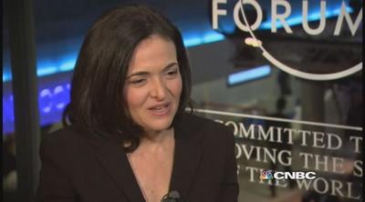 Global solutions need input from women: Sandberg