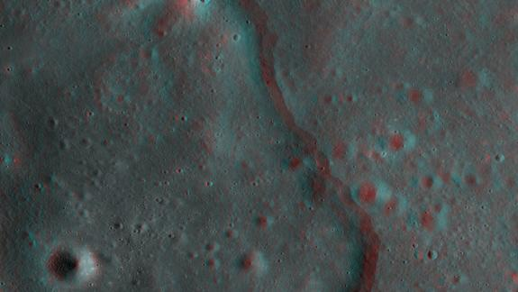 Amazing 3D Moon Photos Created from NASA Lunar Orbiter Imagery