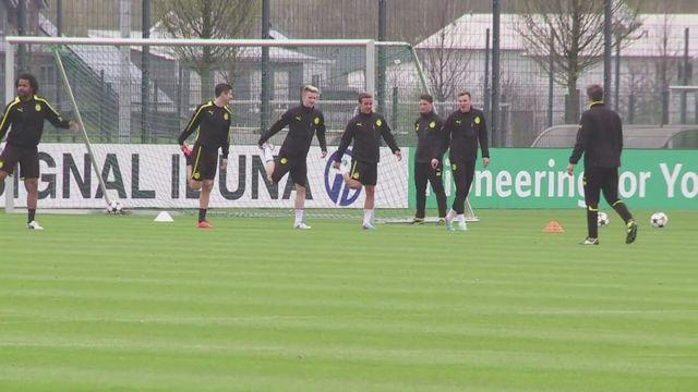 Dortmund prepare for Real Madrid Champions League clash