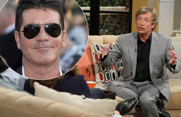 Nigel Lythgoe / Simon Cowell -- Access Hollywood