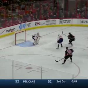 Braden Holtby Save on Alexander Semin (01:54/3rd)