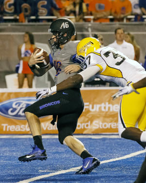 Boise State rolls to 60-7 win over Southern Miss
