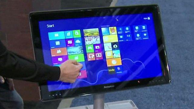Size matters: Lenovo unveils 27-inch tablet