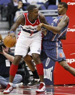 Wizards beat Bobcats 92-75 in Wittman's first game