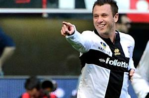 Hunger game: Cassano continues pursuit of World Cup dream against Juventus