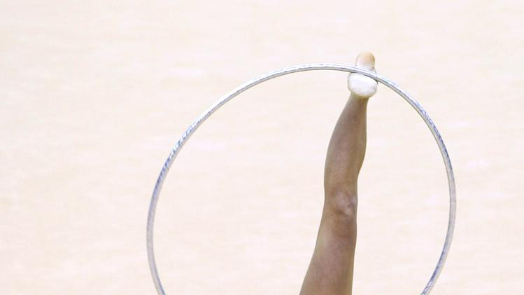 FIG Rhythmic Gymnastics Olympic Qualification - LOCOG Test Event for London 2012: Day Three