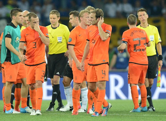 Dutch Players AFP/Getty I …