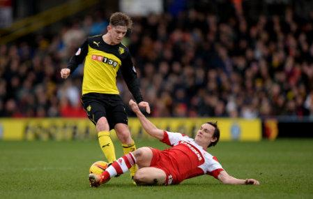 Soccer - Sky Bet Championship - Watford v Middlesbrough - Vicarage Road
