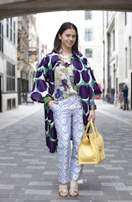 Head-To-Toe Prints: How To Up The Style Ante in DVF, Zara and Nicholas Kirkwood!