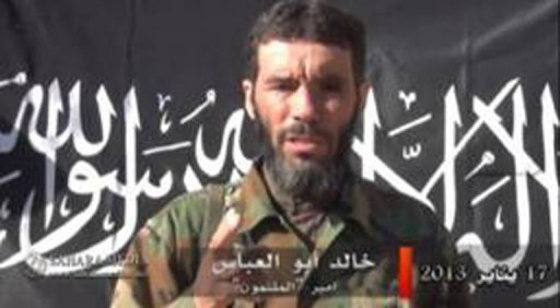 Photo fournie le 20 janvier 2013 par SITE Intelligence Group de Mokhtar Belmokhtar
