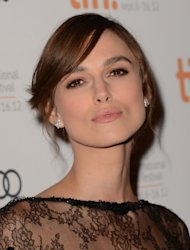 Keira Knightley attends the &#39;Anna Karenina&#39; premiere during the 2012 Toronto International Film Festival at The Elgin on September 7, 2012 in Toronto -- Getty Images
