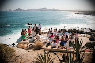 My sister's wedding ceremony in Cabo San Lucas, Mexico.
