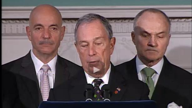 Mayor Bloomberg Explains Occupy Wall Street Eviction
