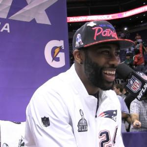 Best of Super Bowl XLIX Media Day: New England Patriots cornerback Darrelle Revis