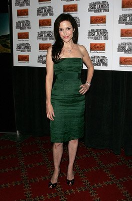 Mary Louise Parker at the New York City premiere of Warner Brothers' The Assassination of Jesse James by the Coward Robert Ford
