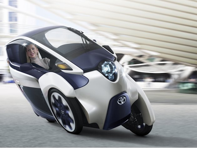 Toyota i-ROAD Concept