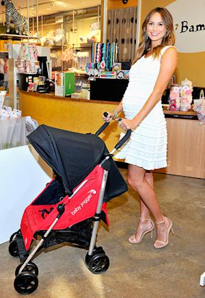 "Stacy Keibler: Pregnancy Isn't ""An Excuse to Eat Donuts"""