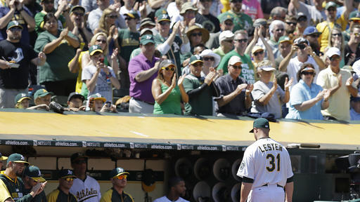 A's, Tigers locked in AL arms race