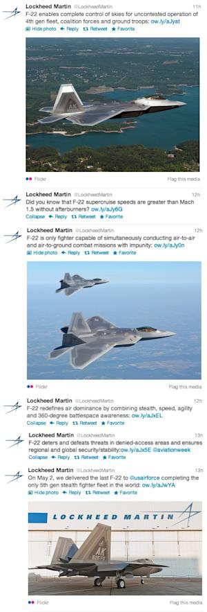 Lockheed Martin's Response to '60 Minutes': The F-22 Is Pretty Cool