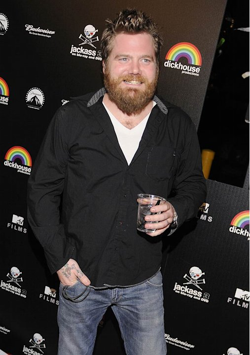 Ryan Dunn Jackass Blue RayDVD Party
