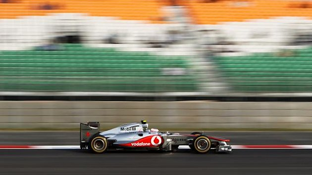 Lewis Hamilton, Indian Grand Prix 2011