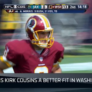 NFL NOW: Kirk Cousins better fit for Washington Redskins offense?