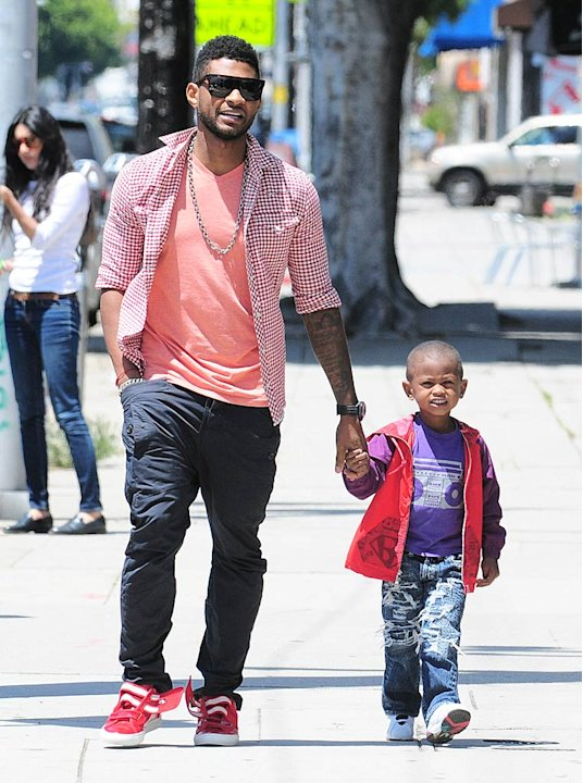 Usher Son West Hllywd