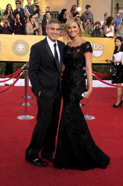 George Clooney dan Stacy Keibler