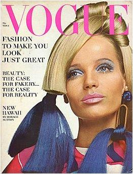 A 1966 cover of Vogue
