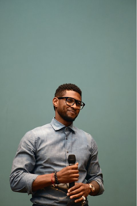 Usher's New Look Foundation 2012 World Leadership Conference - Community Leadership Day