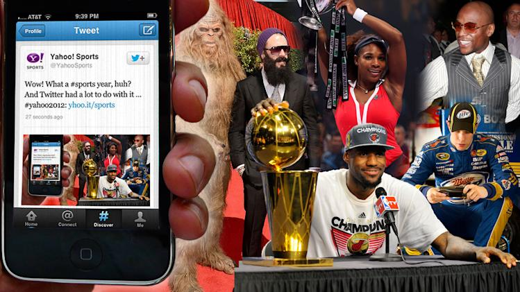 Twitter 2012: How athletes have used social media to become the media. This will be remembered as the year when Twitter became as much a part of sports as instant replay.