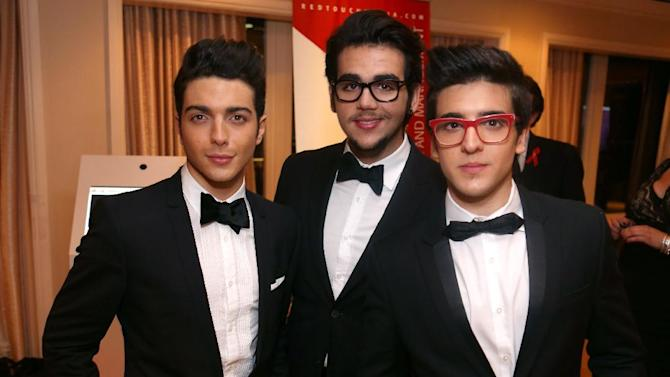 IMAGE DISTRIBUTED FOR EFG - From left, Gianluca Ginoble, Ignazio Boschetto and Piero Barone of Il Vilo seen at The 40th Annual Daytime Emmy Awards After Party Presented by Ciroc and Redtouch Media, on Sunday, June 16, 2013 in Beverly Hills, Calif. (Photo by Ryan Miller/Invision for EFG/AP Images)
