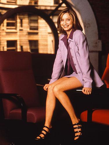 Calista Flockhart on Ally McBeal, 1997