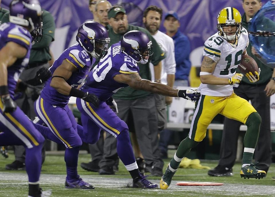 Packers' running game provides offensive balance