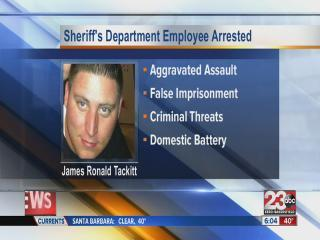 James Tackitt Jr. Arrested