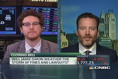 Can Jamie Dimon weather the storm?