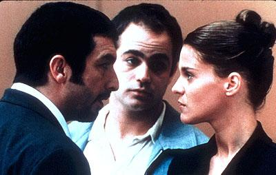 Ricardo Darin , Gaston Pauls and Leticia Bredice in Nine Queens