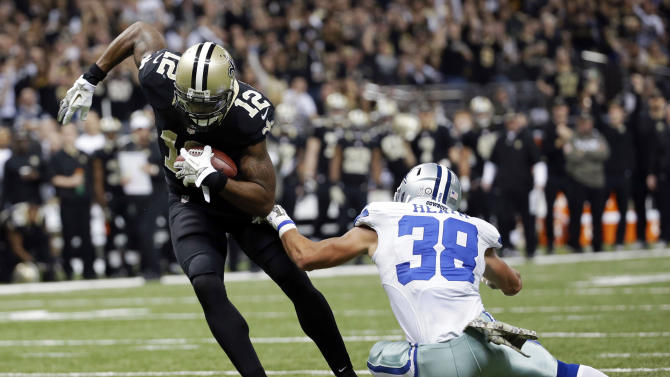 Cowboys take humbling loss to Saints into bye week