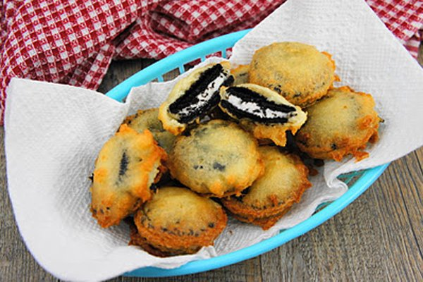 Diet Disaster: Deep Fried Oreos