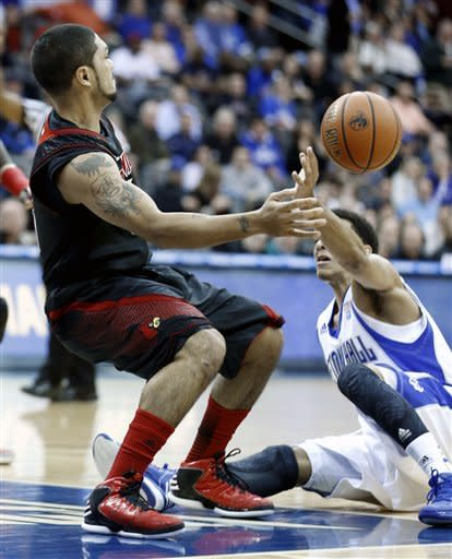 Dieng leads No. 3 Louisville over Seton Hall 73-58