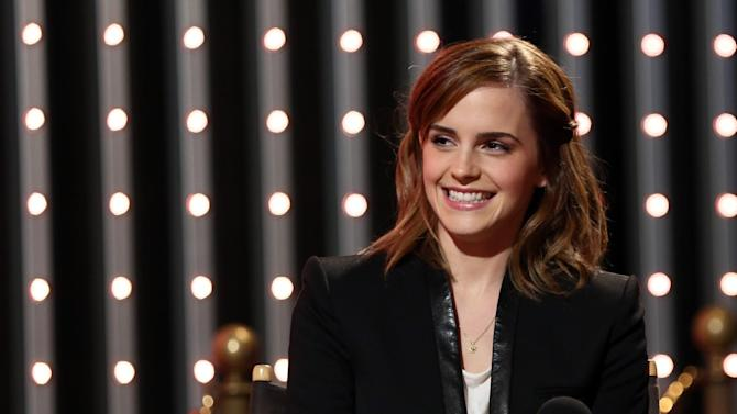 """IMAGE DISTRIBUTED FOR MTV - Cast member of """"The Bling Ring"""" Emma Watson is seen at """"The MTV Movie Awards Sneak Peek Week"""" on Friday, April 12, 2013 in Universal City, Calif. (Photo by Matt Sayles/Invision for MTV/AP Images)"""
